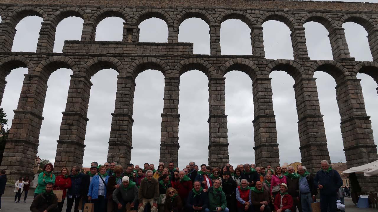 Celebración encuentro de FAMCAL en Segovia