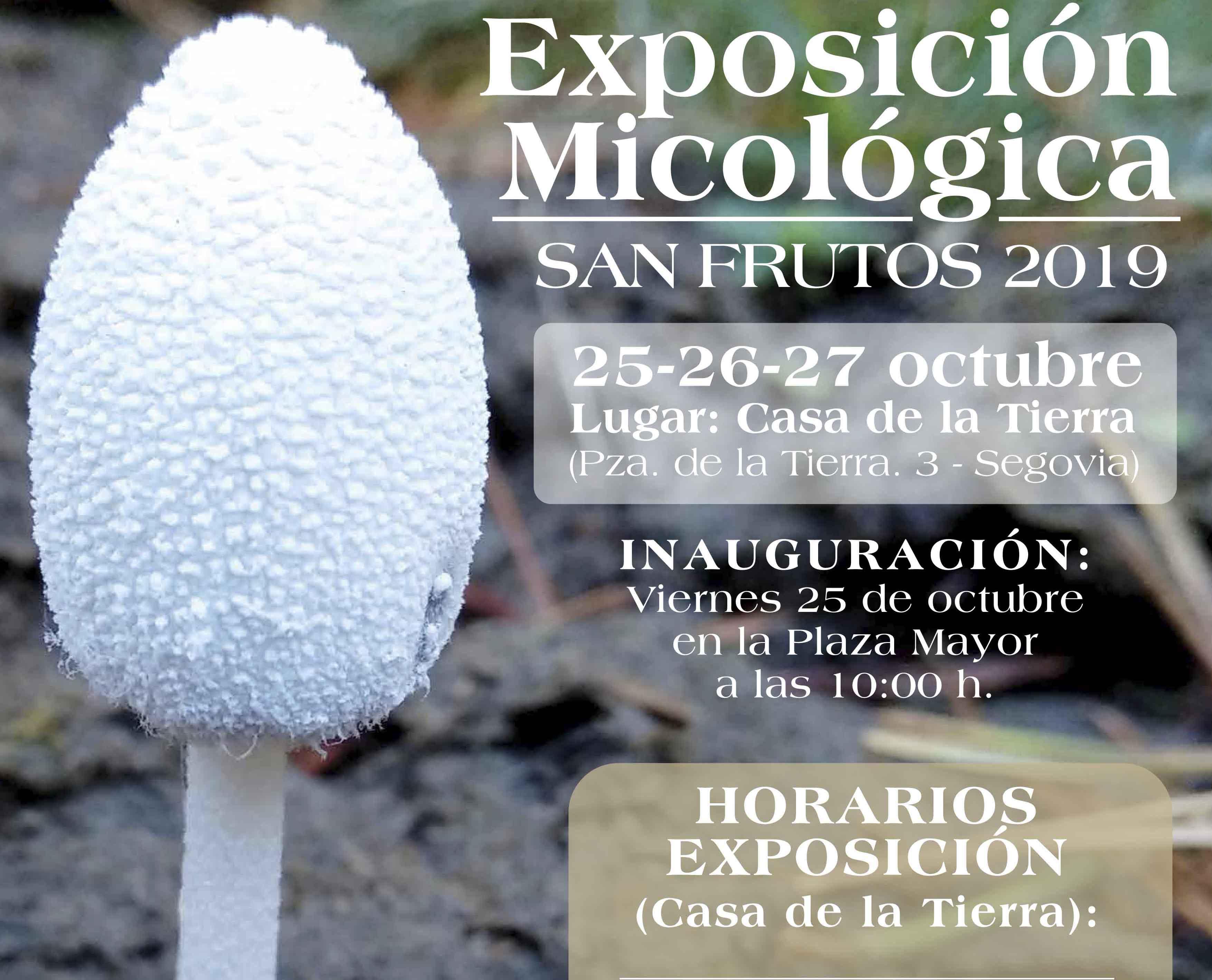 XVI Exposición Micológica SMS 2019