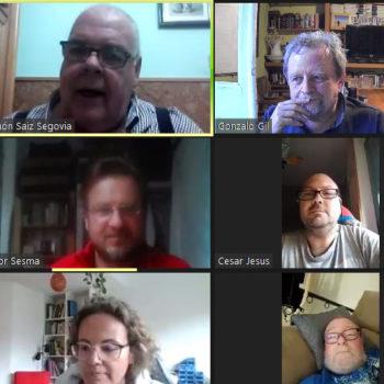 Reunión on-line  10/05/2021